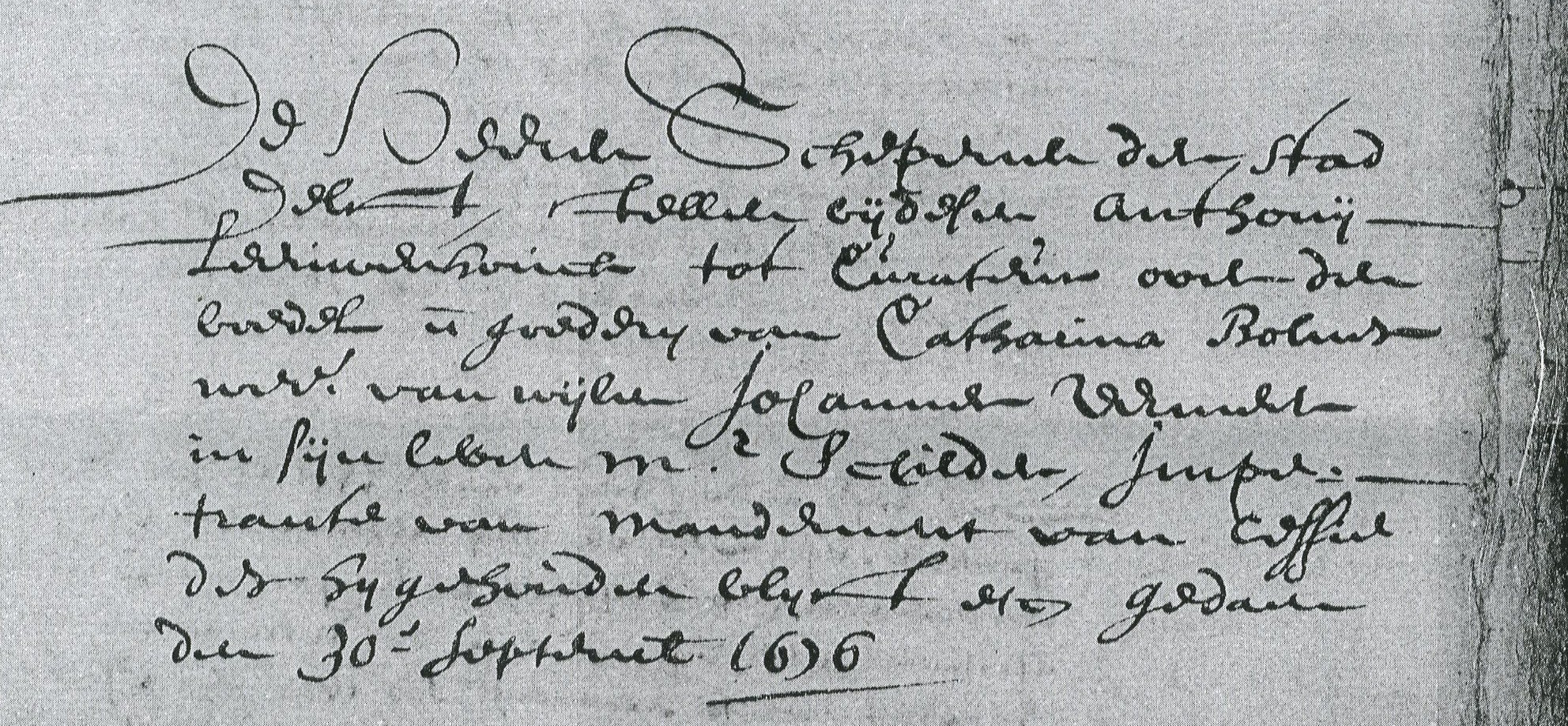 leeuwenhoekappointedcurator_ora_171_30-9-1676